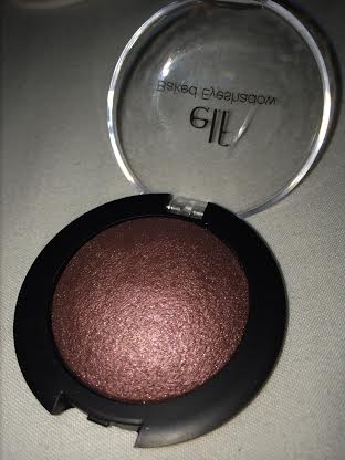 burnt plum elf baked eyeshadow